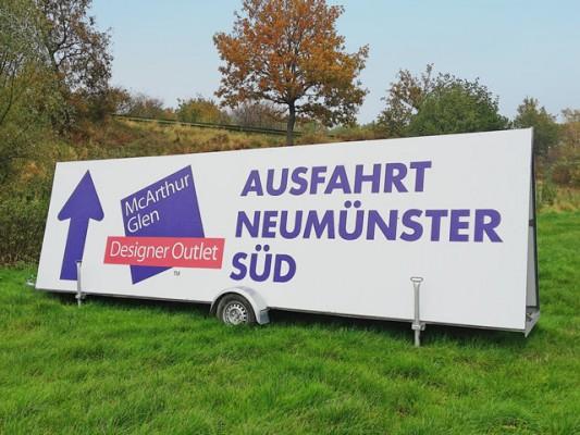 Maxi-Werbebanner Strassenmax für NDO